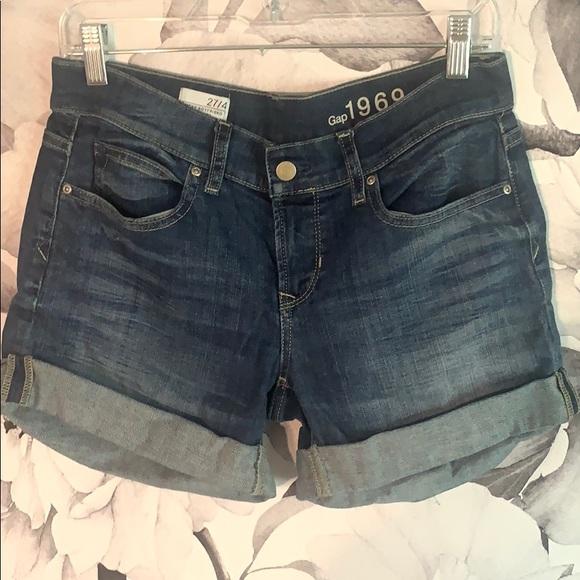 GAP Pants - Boyfriend fit jean shorts